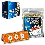 Filtros Ocb Regular 7mm + librito ocb naranja dentro de cada bolsa.