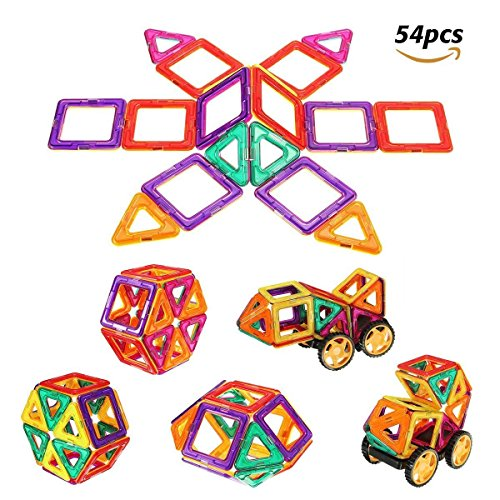 Magnetische Bausteine,größe Riesenrad Bauklötze, Inspirierende Konstruktionsbausteine, Lernspielzeug, Tolles Geschenke für Vorschule Kinder Jungen und Mädchen, Perfektes Magnetspielzeug
