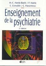 Enseignement de la psychiatrie de Marie-Christine Hardy-Baylé
