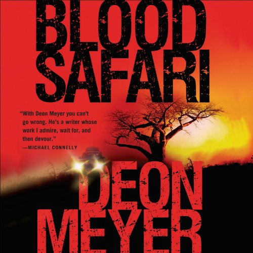 Blood Safari audiobook cover art