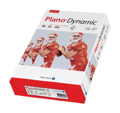 Papyrus 88027683 Druckerpapier PlanoDynamic 80 g/m², A4, 2-fach gelocht 500 Blatt weiß