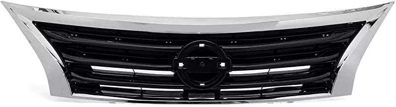MDYHJDHYQ Front Air Grille Chrome Front Hood Bumper Upper Grille Grill for N i s s a n Altima 2013 2014 2015 Car Accessories