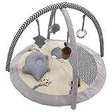 CHARON Gimnasio Sensorial Llama, Manta De Juego para Bebés Recién, Gimnasio Deluxe Animalitos De La Selva, Manta De Juego Bebé