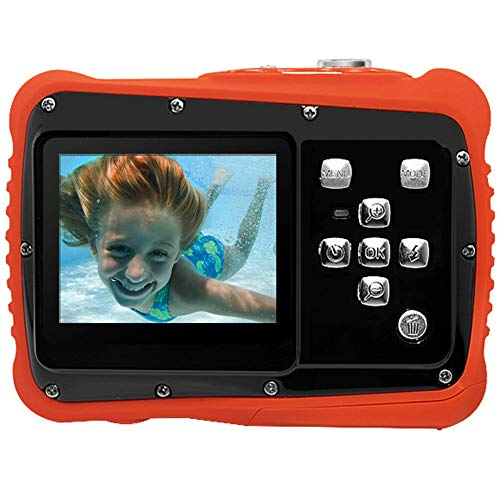 Pellor 子供用 デジタルカメラ 子供カメラ 3M防水 12MP画素 2インチ 耐衝撃性 子供用デジタルカメラ (黒)