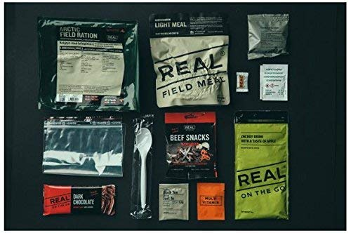 REAL FIELD MEAL Tagesration, MRE, EPA, Feldration von Drytech (Hähnchen Curry)