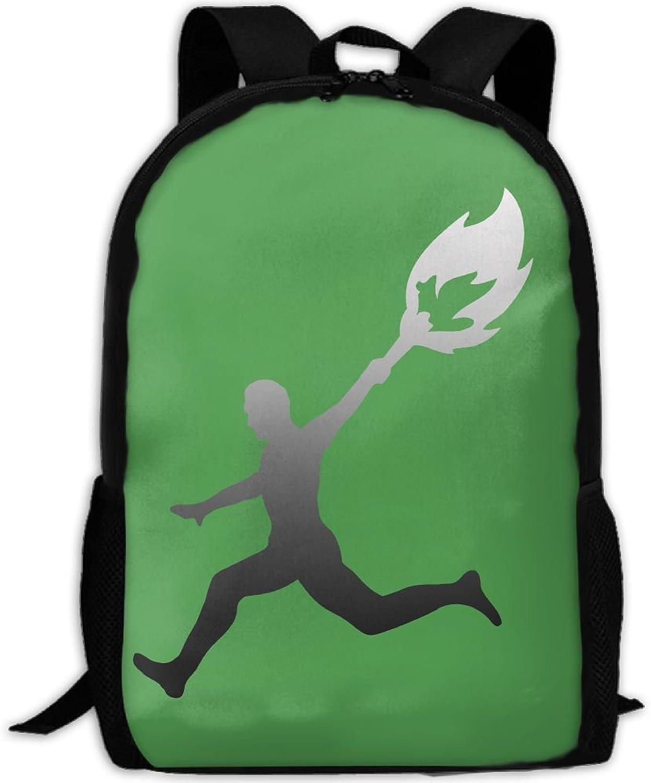 4085e6194908 Backpack Laptop Hiking School Bags Torch Light Olympic Shoulder Bag ...
