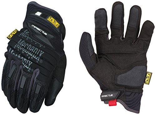 Mechanix Wear Handschuhe M-Pact 2 Rot, schwarz, MP2-05-010