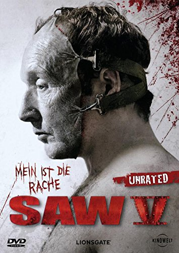 SAW V Unrated Director's Cut DVD Disc