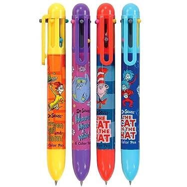 Dr Seuss Changeable 6-Color Little Kids Retractable Pens, 12-Pack (67130)