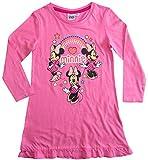 Minnie Mouse Nachthemd Nachtwäsche Nachtrobe Disney (Rosa, 92-98)
