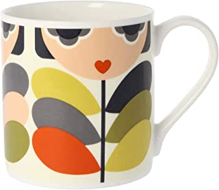 Orla Kiely Quite Big Mug, Lady Stem
