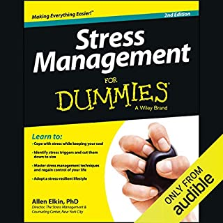 Stress Management For Dummies, 2nd Edition audiobook cover art