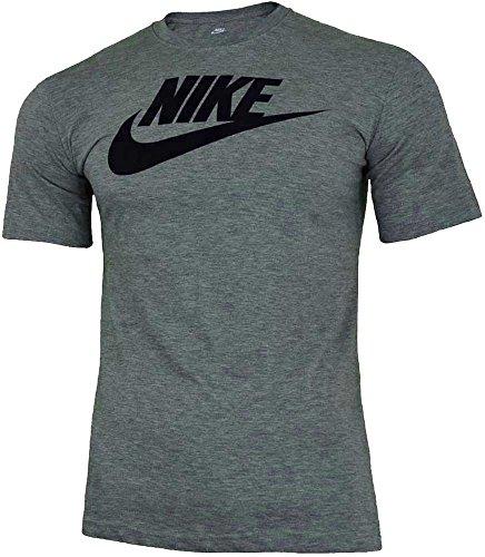 Nike Icon Futura T-Shirt de Sport pour Homme - Gris - Small