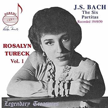 Rosalyn Tureck, Vol. 1: Bach Partitas