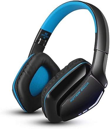 CSZH Cuffie da gioco wireless Bluetooth Headphones Cuffie Headban con auricolare per microfono con qualità audio migliorata e migliore equalizzazione per iPhone Samsung Smart Phone (nero blu) - Trova i prezzi più bassi