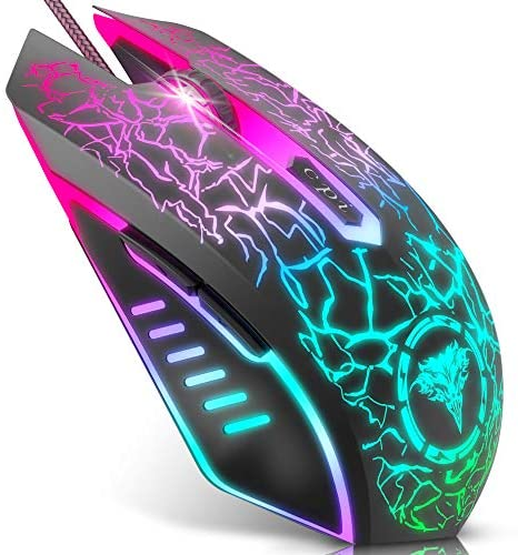 BENGOO Gaming Mouse Wired, USB Optical Computer...