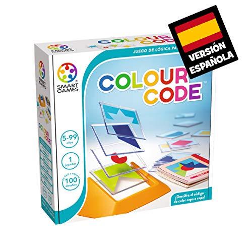 Smart Games-SG090ES Colour Code (Ingles), Miscelanea (81115) , color/modelo surtido