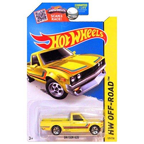 Hot Wheels 2015 HW Off-Road Datsun 620 125/250, Yellow
