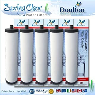 5 x Pack - Franke Triflow Compatible Filter Cartridges By Doulton M15 Ultracarb (NO Import Duty or Taxes to pay on this product)