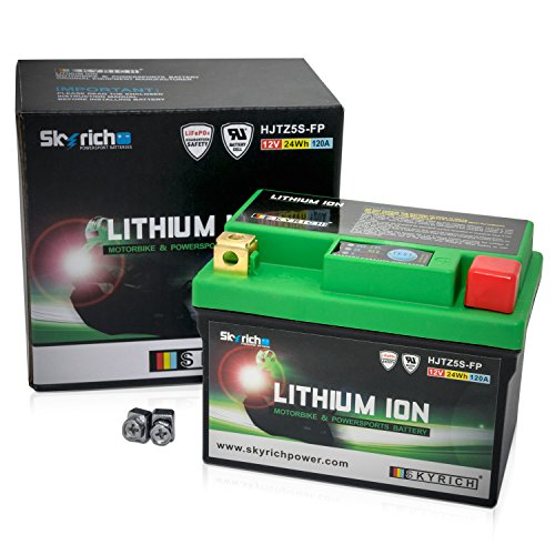 Skyrich HJTZ5S-FP batteria ricaricabile industriale Litio 12 V, taglia unica