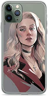 TEEMT Compatible with iPhone 11 Pro Case Riverdale Archie Comics Betty Cooper Art Pure Clear Phone Cases Cover