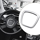 JenNiFer Aleación De Aluminio Coche Volante Pegatina Cuerpo Emblema Trim para Audi A3/A4/A5/Q5/Q7