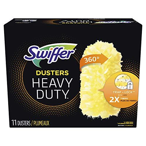 Swiffer Heavy Duty Refills, Ceiling Fan Duster, 11 Count