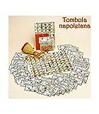 TradeShop - TOMBOLA NAPOLETANA con CARTELLE SMORFIA Classica Natale Capodanno Gioco Numeri - 17956