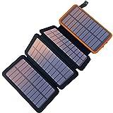 PEALIKER Caricabatterie Solare 25000mAh Solare Power Bank...