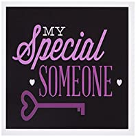 Anne Marie Baugh Love Designs – My Someone Special inピンクwith aハートキー – グリーティングカード Set of 6 Greeting Cards