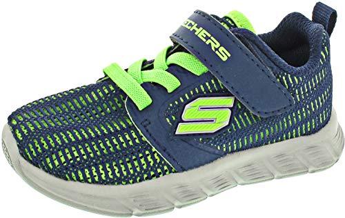 Skechers Comfy Flex Micro Shift (Lauflernschuh blau / 22)
