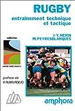 Rugby : Entraînement technique et tactique