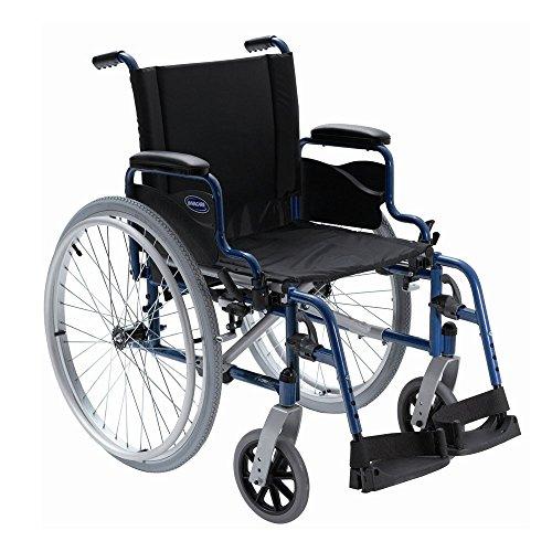Silla de ruedas Action1NG de acero y autopropulsable - Ancho de asiento 43 cm