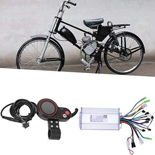 FOLOSAFENAR Controlador de Bicicleta eléctrica Impermeable 36V 500W Límite de Velocidad, para...