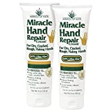 Miracle of Aloe's Miracle Hand Repair Cream (8 OZ Pack of 2)