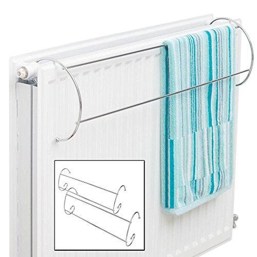 Taylor and Braun® - Set mit 2 Handtuchhaltern zum Aufhängen über der Heizung, Kleidung trocknen