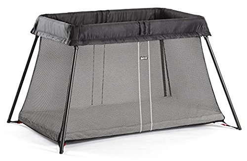 BABYBJORN Travel Crib Light  Black