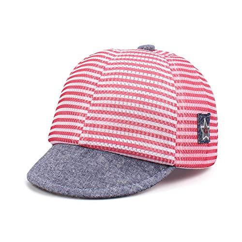Pesaat Gorra de béisbol para niños de 3 a 18 meses, gorra de béisbol para bebés y niños, gorra para verano Red with mesh 3-18 meses
