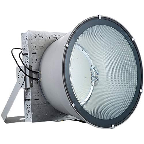 Proyectores LED, IP65 Impermeable Foco Proyector LED de iluminación Súper Brillante de alta Potencia, Candelabro de Torre LED para Zona de Juegos, Garaje, Almacén, Patio Trasero (Size : 800W)