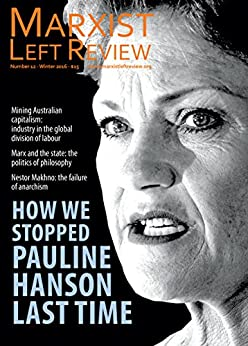 Marxist Left Review 12 by [Sandra Bloodworth]