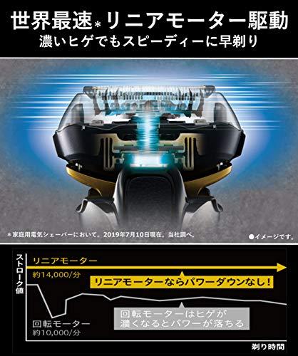 パナソニックラムダッシュメンズシェーバー5枚刃シルバー調ES-LV9EX-S
