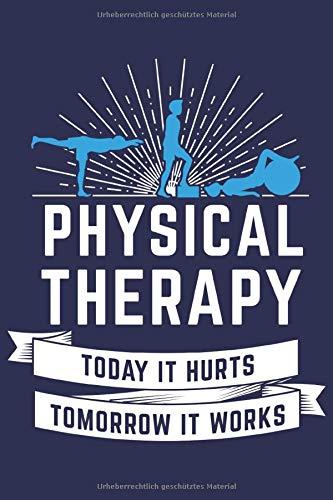 Physiotherapie Notizbuch: Ein cooles Notizheft für Physiotherapeuten