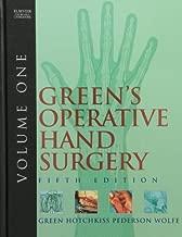 Green's Operative Hand Surgery: 2-Volume Set, 5e (Operative Hand Surgery (Green's)) by William C. Pederson MD (2005-03-18)
