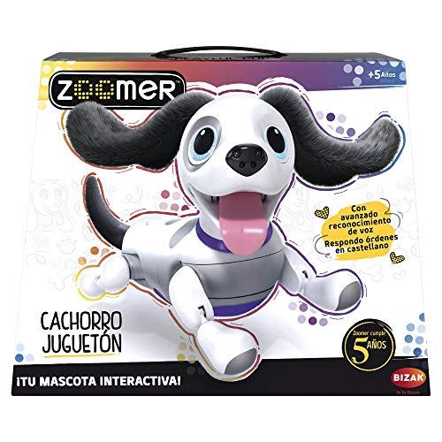 Zoomer–Cucciolo juguetón Mascotte Elettronica, Multicolore (Bizak, S.A. 61924434)