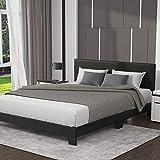 Best King Size Beds - Allewie King Size Upholstered Platform Bed Frame Review