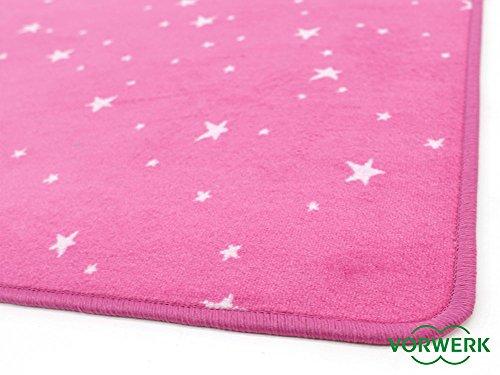 Vorwerk Kinderteppich Bijou Stars pink - 5