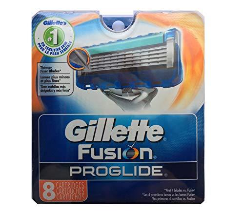 Price comparison product image Gillette 8 Fusion Proglide Razor Blades NEW 8 PACK 100% AUTHENTIC,  GENUINE NIB