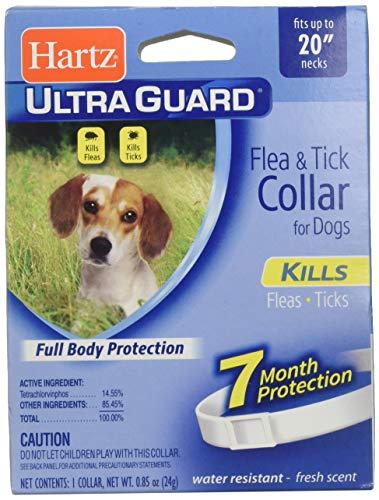 "Price comparison product image Hartz Ultraguard Flea & Tick Dog Collar 20"",  White 1 ea"