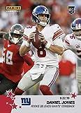 2019 DANIEL JONES ROOKIE QB LEADS NY GIANTS COMEBACK PANINI INSTANT NFL CARD #42 + TOPLOADER