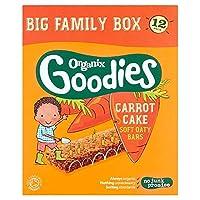 [Organix] Organixグッズキャロットケーキバー12X30G - Organix Goodies Carrot Cake Bars 12X30g [並行輸入品]